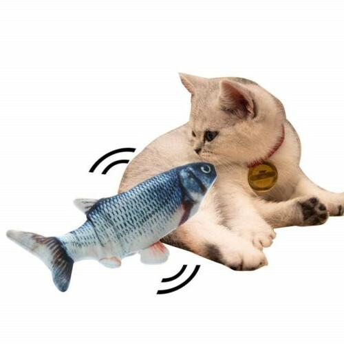 Electronic Toy Electric USB Fish Toys for Dog New