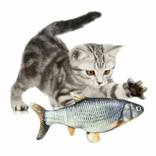 Electronic Pet Cat Toy Electric Fish Dog New