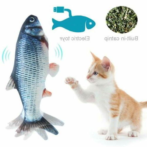 Electronic Pet Electric Charging Simulation Fish for New