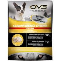EVO Turkey & Chicken Formula Small Bites Dry Dog Food