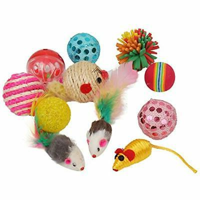 Fashion's Animal Toys Cat Variety Pack For Kitty 20 Pieces