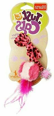 Hartz Just For Cats Feather Ball Teaser Cat Toy