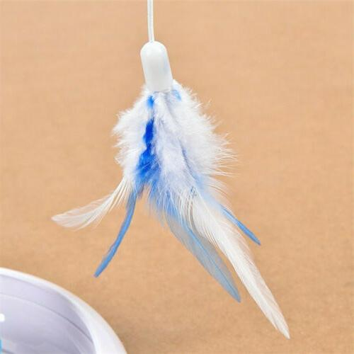 Feather Teaser Multifunction Electric Interactive Pet Funny