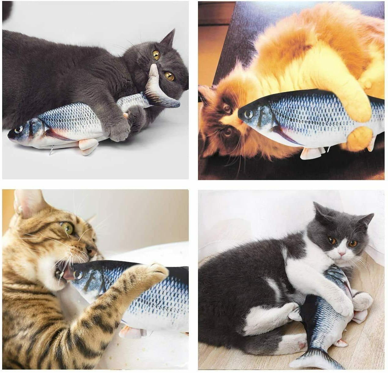 Cat Interactive Fish Realistic Flopping Fish