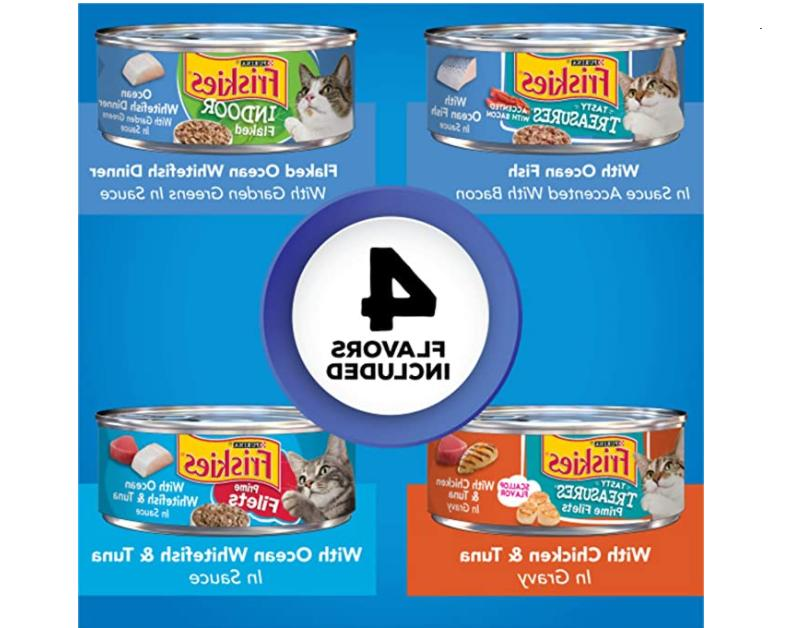 Purina Friskies Canned Wet Cat Food Variety Packs