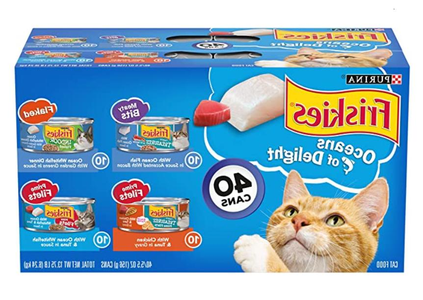 friskies canned wet cat food 40 ct