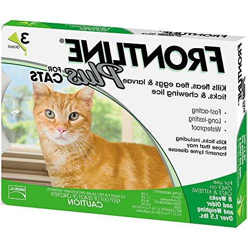 Frontline Plus for Cats and Tick Treatment, Doses