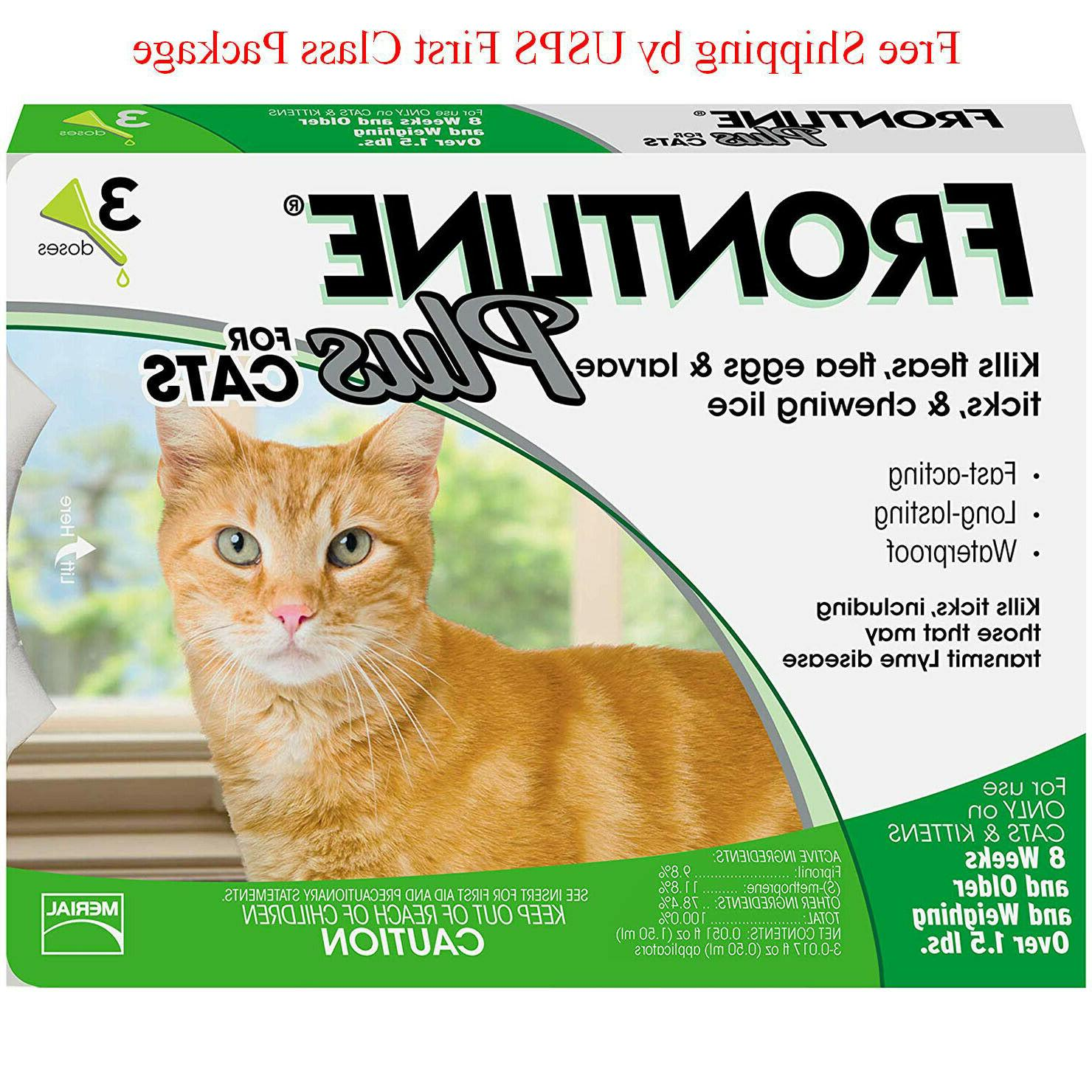 frontline plus for cats 3 doses 3