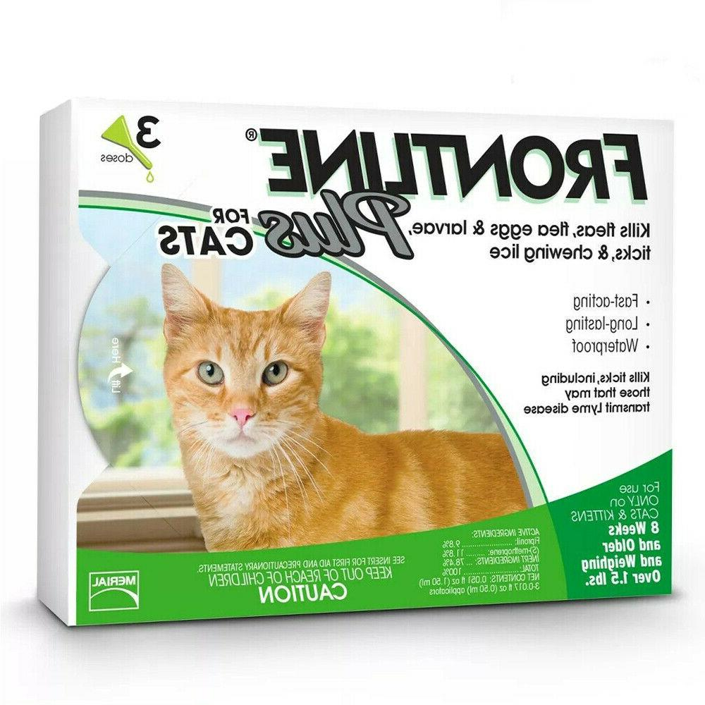 frontline plus for cats flea and tick