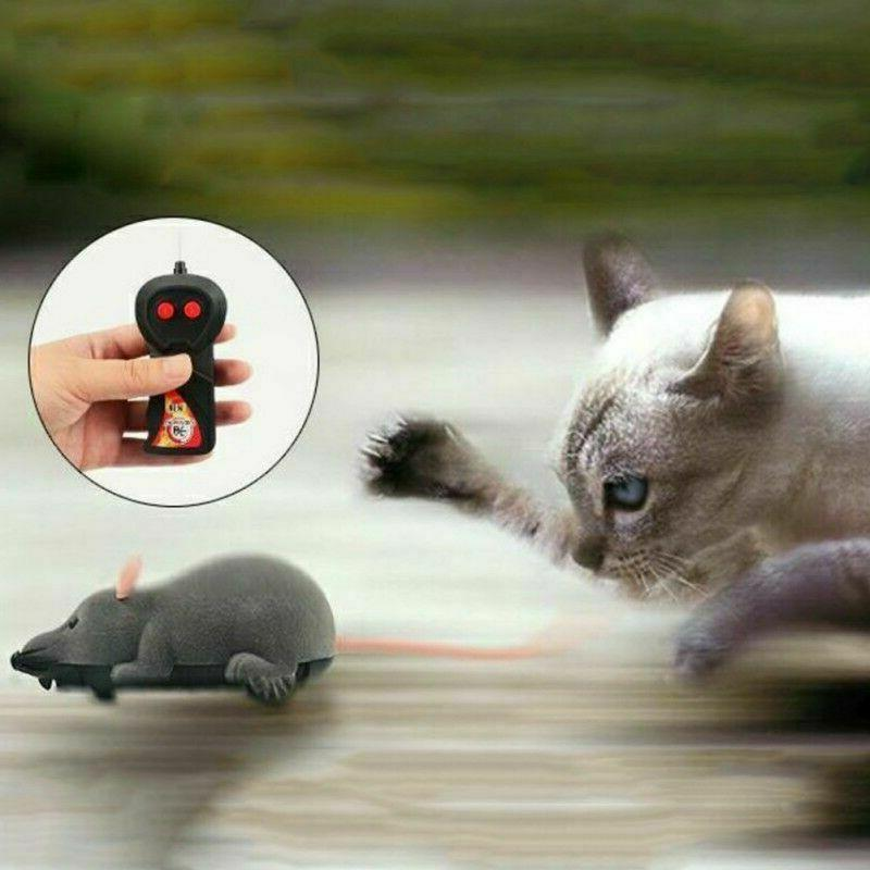 Pet Cat Wireless RC Electronic Rat Mouse Toys