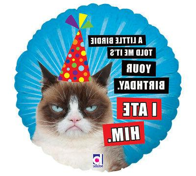 "GRUMPY CAT 18"" PARTY BIRTHDAY"