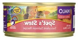 Halo Purely for Pets Salmon Spots Stew for Cat, 5.5 Ounce --