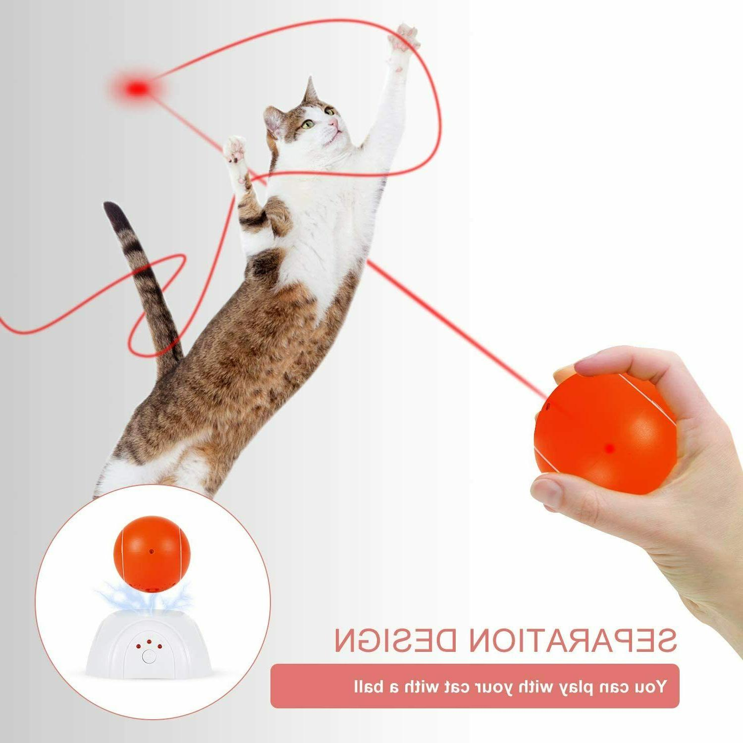 Interactive Cat Toy - Moving Laser Interactive Toys
