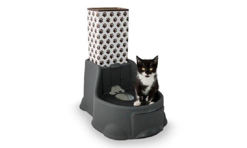kitty potty no touch litter box system