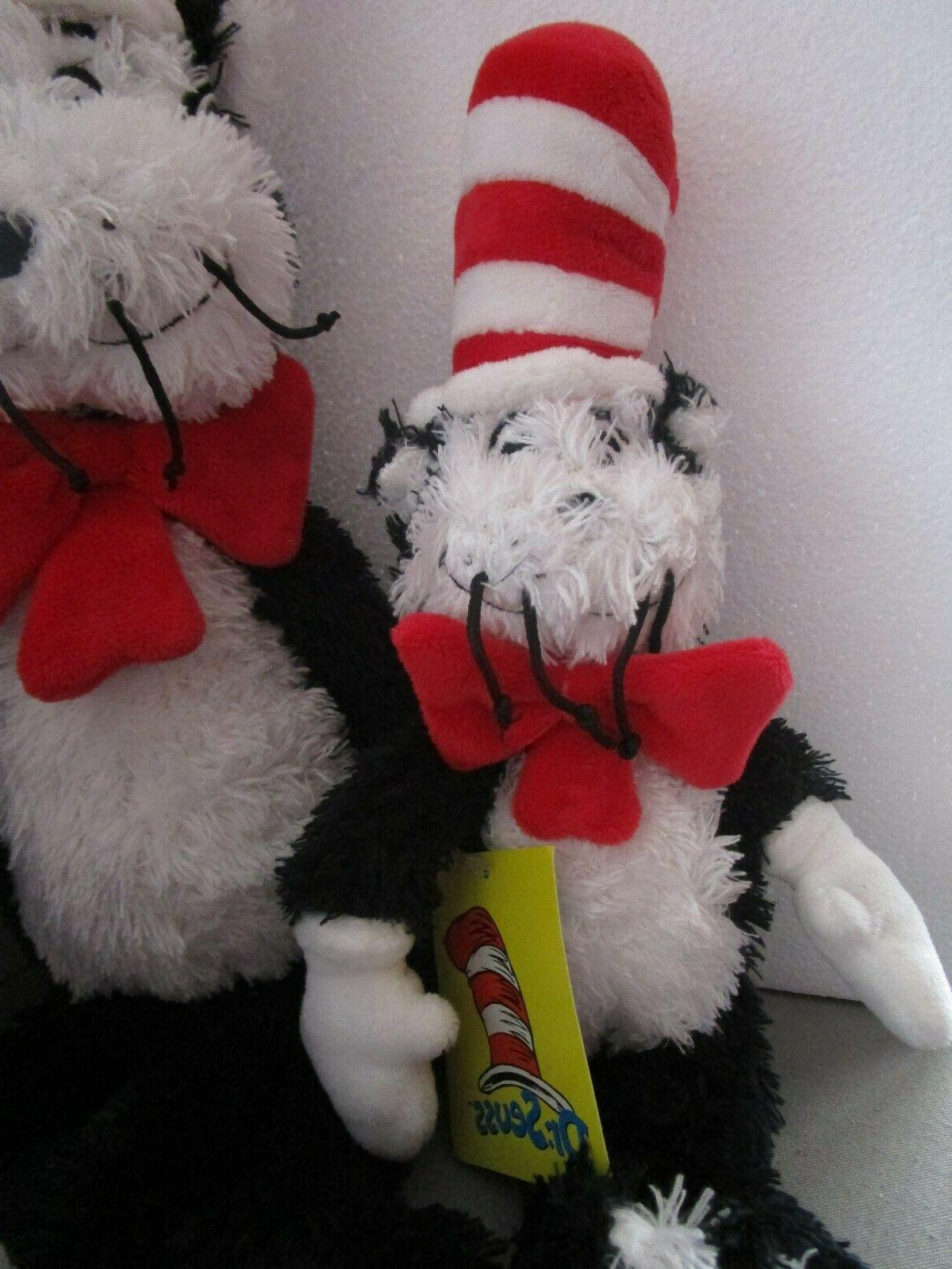 "NEW Cat In The Hat Plush  19"" 6"""