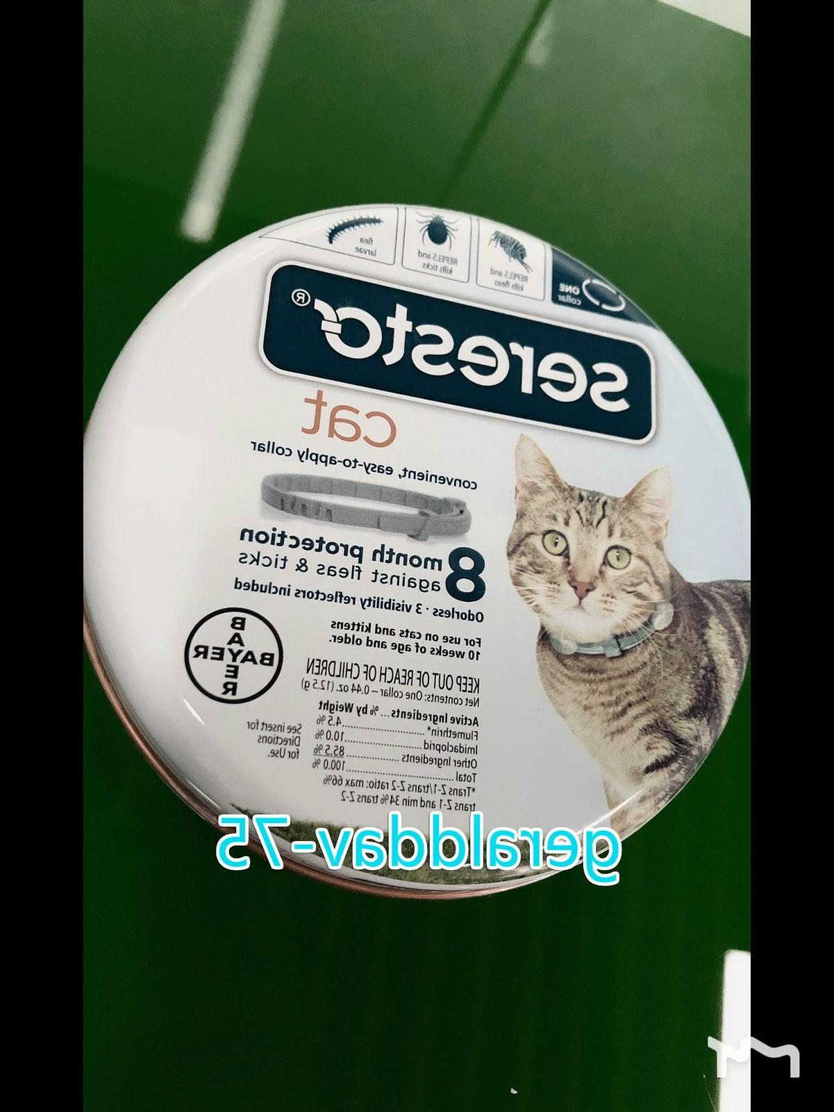 NEW Seresto and Tick Collar Cat Protection