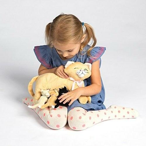 Manhattan Toy Nursing Nina Cat Nurturing Soft for Kids