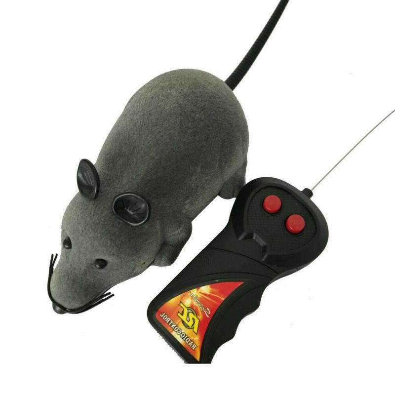 RC Mouse Electronic Rat Pet Funny For