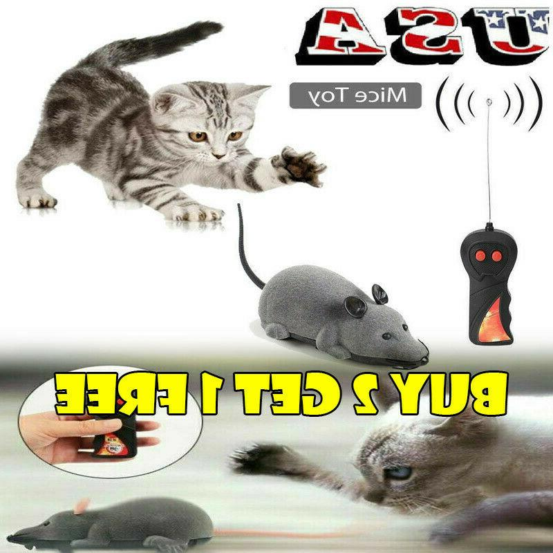 pet cat puppy toy wireless remote control