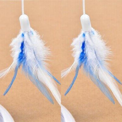 Pet Cat Teaser Interactive Cats Funny Feather Toys