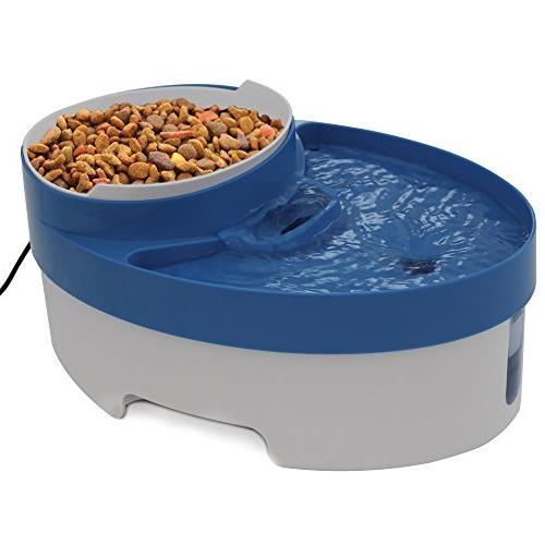 OxGord Pet Water & Food for Dog Water