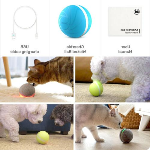 Pet Toy For Dogs Cats Smart Toy Ball Light Flashing Bouncing