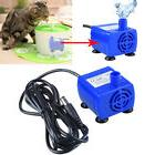 Pet Water Fountain Pump Replacement Submersible For Dog Cat