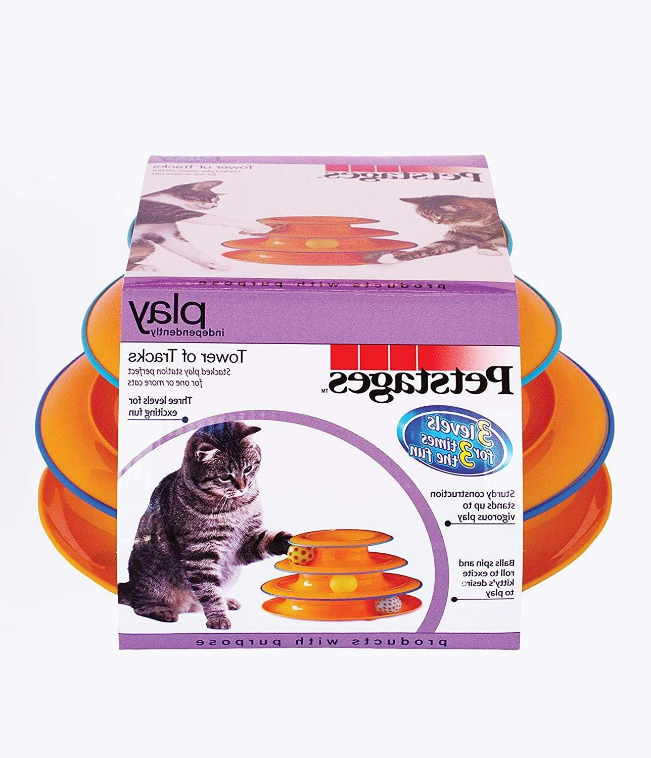 Petstages Ball Toy Fun Cat Game