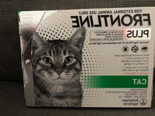 plus flea and tick treatment for cats