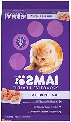 IAMS PROACTIVE HEALTH Kitten Dry Cat Food 16 Pounds