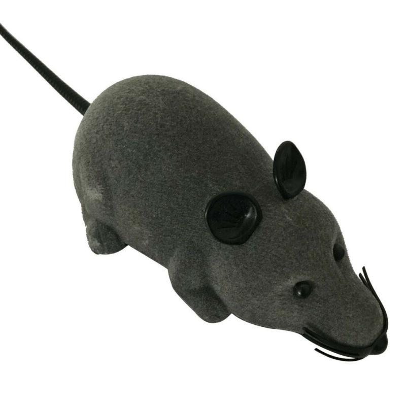 RC Mouse Electronic Rat Pet Funny Toy For