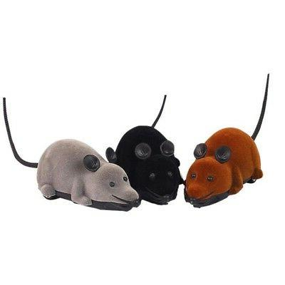 Wireless Remote Control Electronic Rat Mouse Mice Interactiv