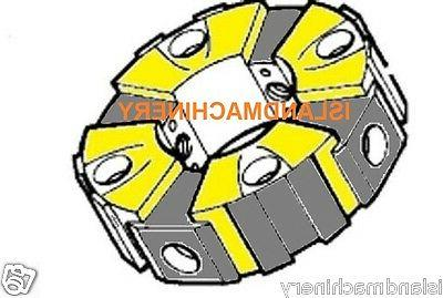 REPLACEMENT PUMP COUPLING WITH INSERTS   FOR EXCAVATOR CAT 3