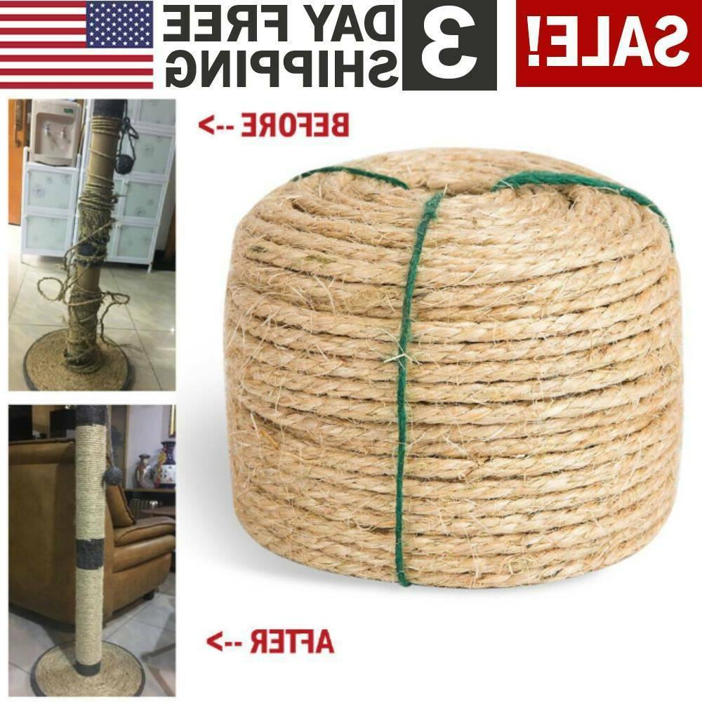 Replacement Sisal Rope for CAT SCRATCHING POST Toy Repair Pe