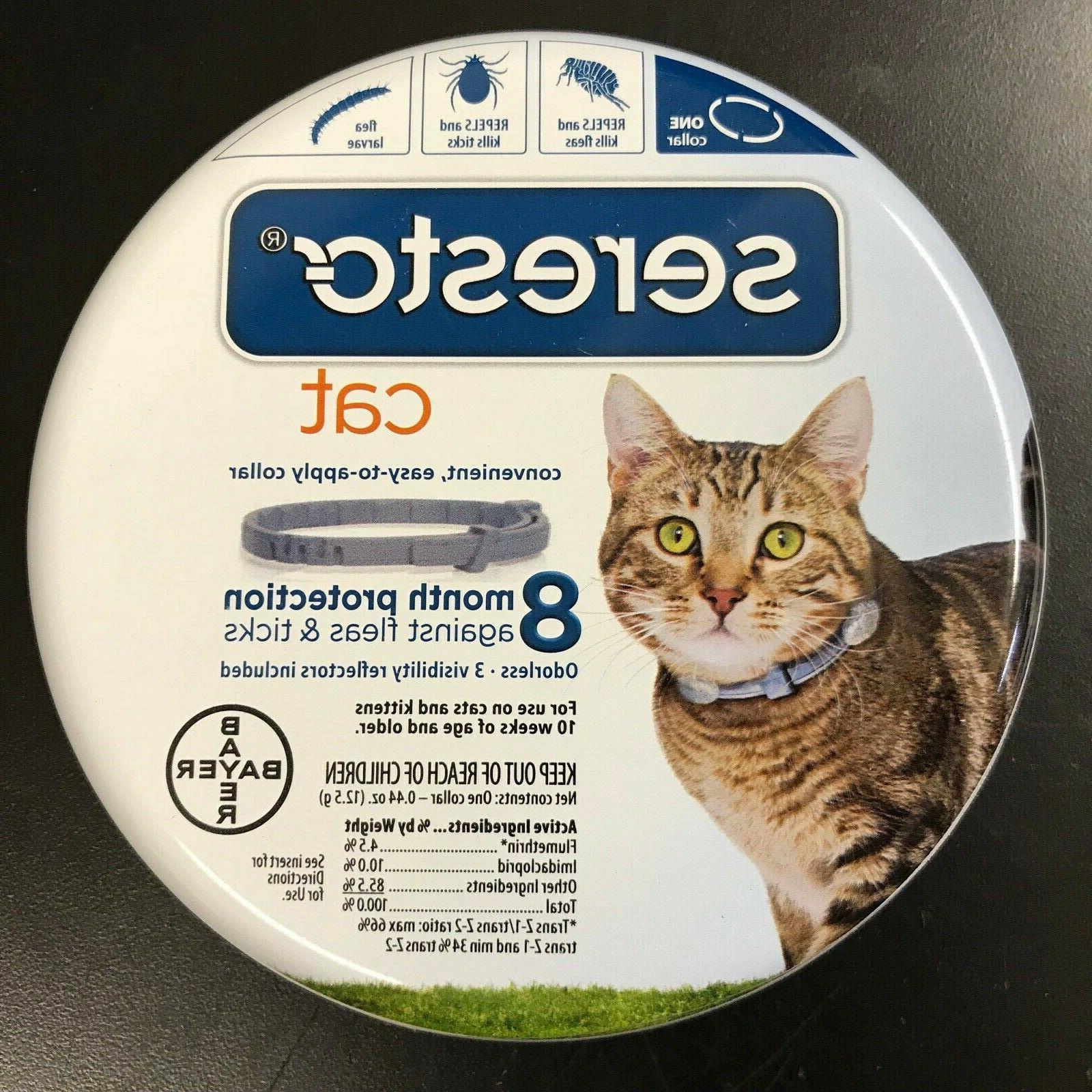 seresto flea tick collar cats