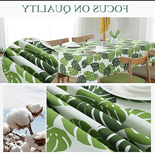 Dragonhome Simple Modern Table Holding Hearts Bowknot Eyes with Leaves Art for use, Restaurant, 35 INCH