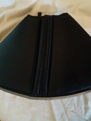 The Comfy Cone 25 Water Resistant for Dogs & Cats Black
