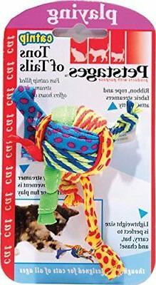 Petstages Tons of Tails Cat Toy Multi-Colored