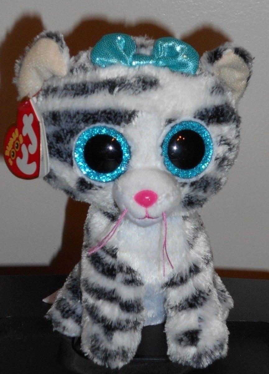 TY Beanie Boos ~ QUINN the Cat  NEW MWMT