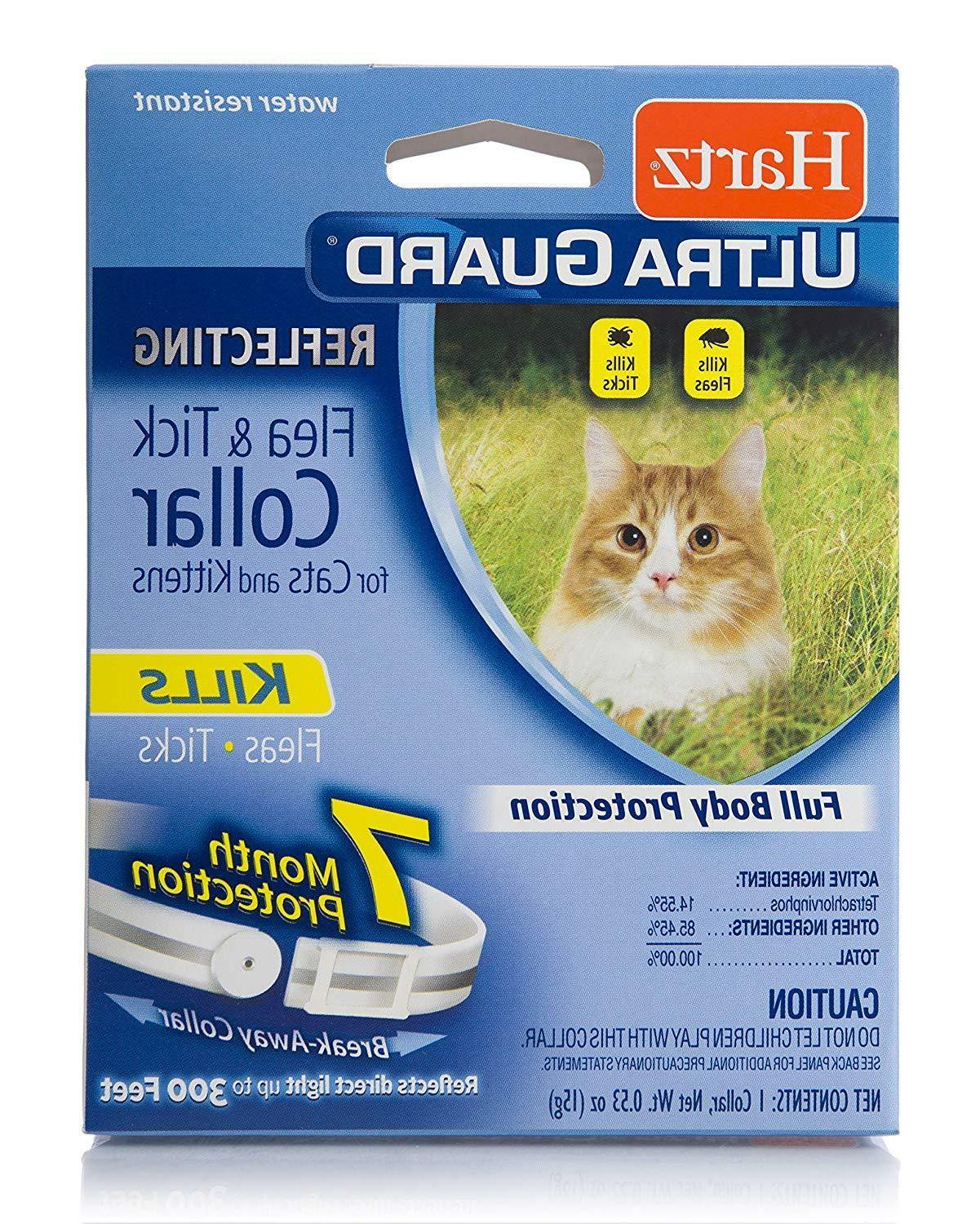 HARTZ ULTRAGUARD REFLECTING FLEA & TICK COLLAR CATS & KITTEN
