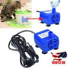 US Pet Water Fountain Pump Replacement Submersible For Dog C