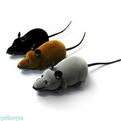 Wireless Remote Electronic Rat Mouse Gift ANY