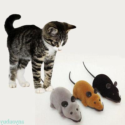 Wireless Remote Control Electronic Rat Toy For Cat Puppy Gift