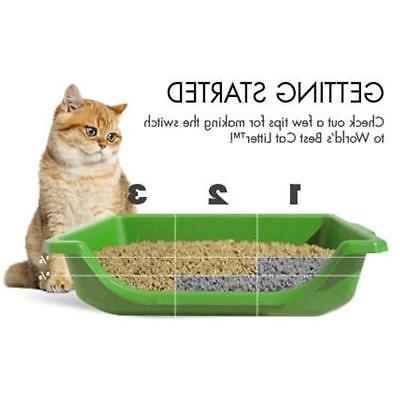 World's Litter, Clumping Formula For Multiple Cats, 28-Pounds