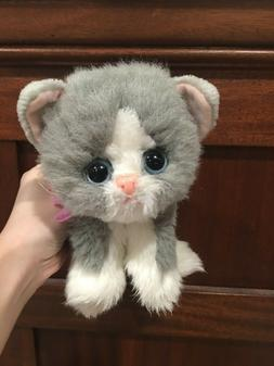 LOVELY SHY Vintage Tyco Gray Kitty Kitty Kittens cat purring