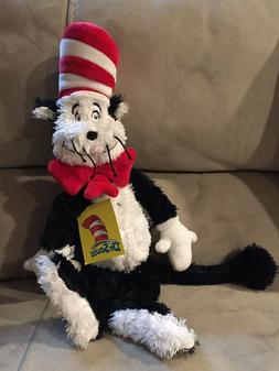 "Manhattan Toy Company Cat in the Hat 19"" Plush Soft Toy Auth"