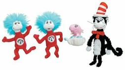 Manhattan Toy Dr. Seuss Cat in the Hat Finger Puppet Boxed S