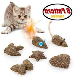 Mice Animal Shaped Pet Cat Toys Natural Catnip Healthy Funny