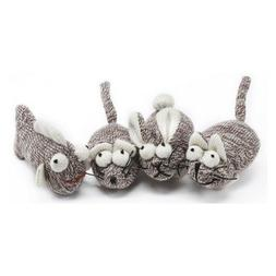 Multipet Sock Pal For Cats Catnip Toy   Fish,Rabbit &Mouse