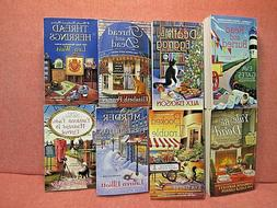 Mystery Paperback Mixed Lot of 8 Crime/Thriller/Cats  VGC Fr